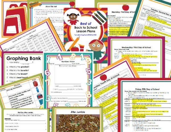 Best of Back to School Activities & Lessons | Astute Hoot