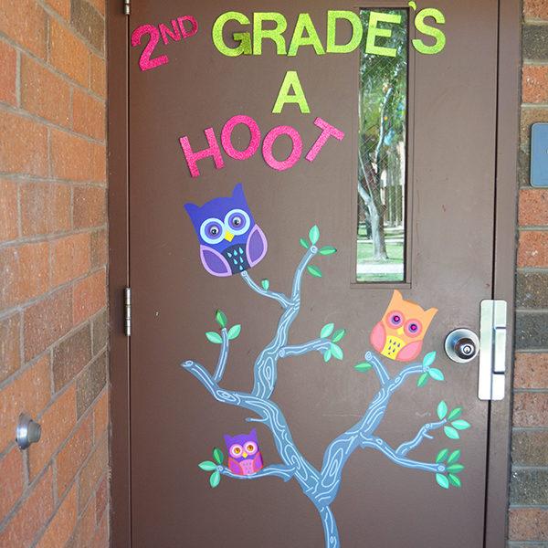2nd grade's a hoot