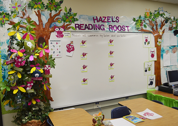 Hazel's Reading Roost: Guided Reading Center