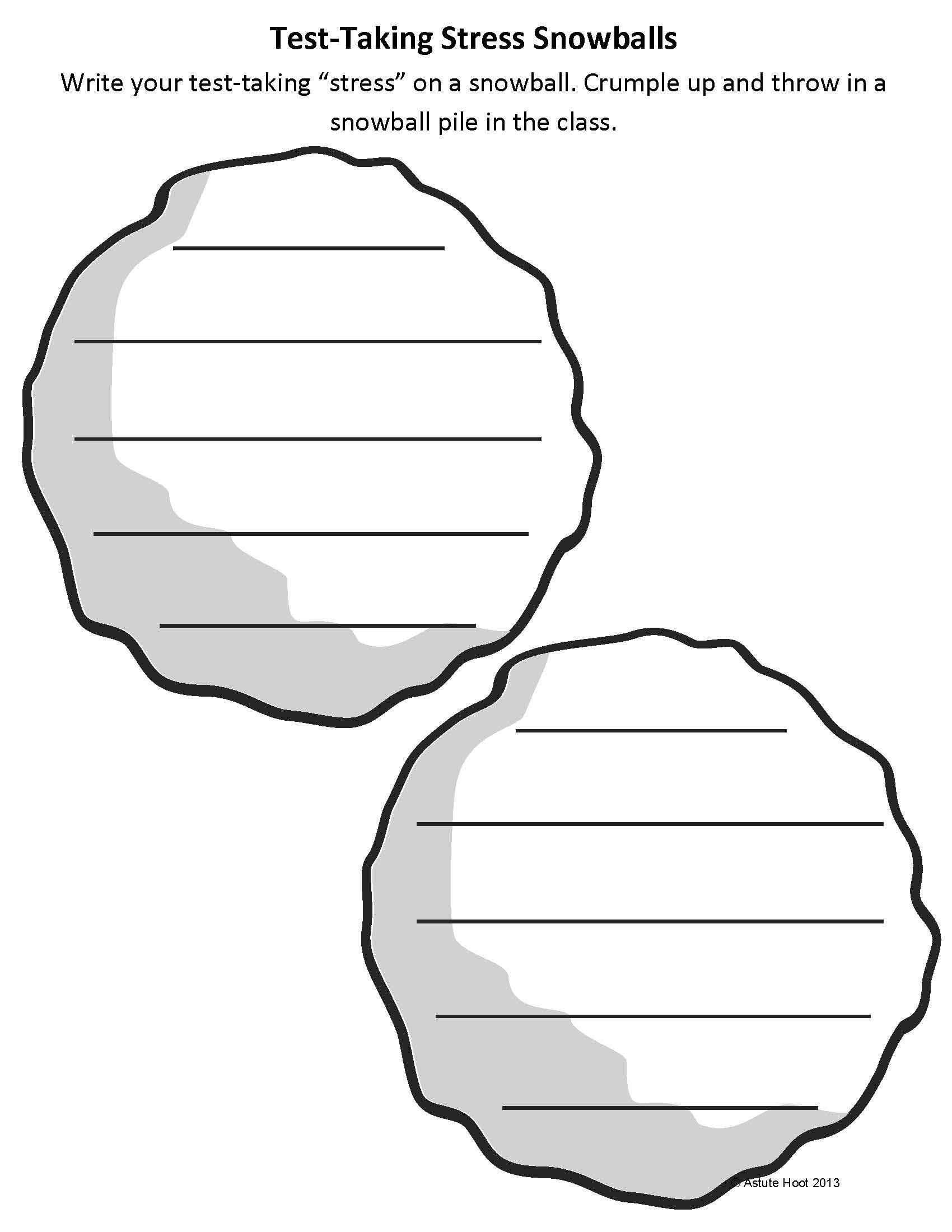 Stress snowballs paper