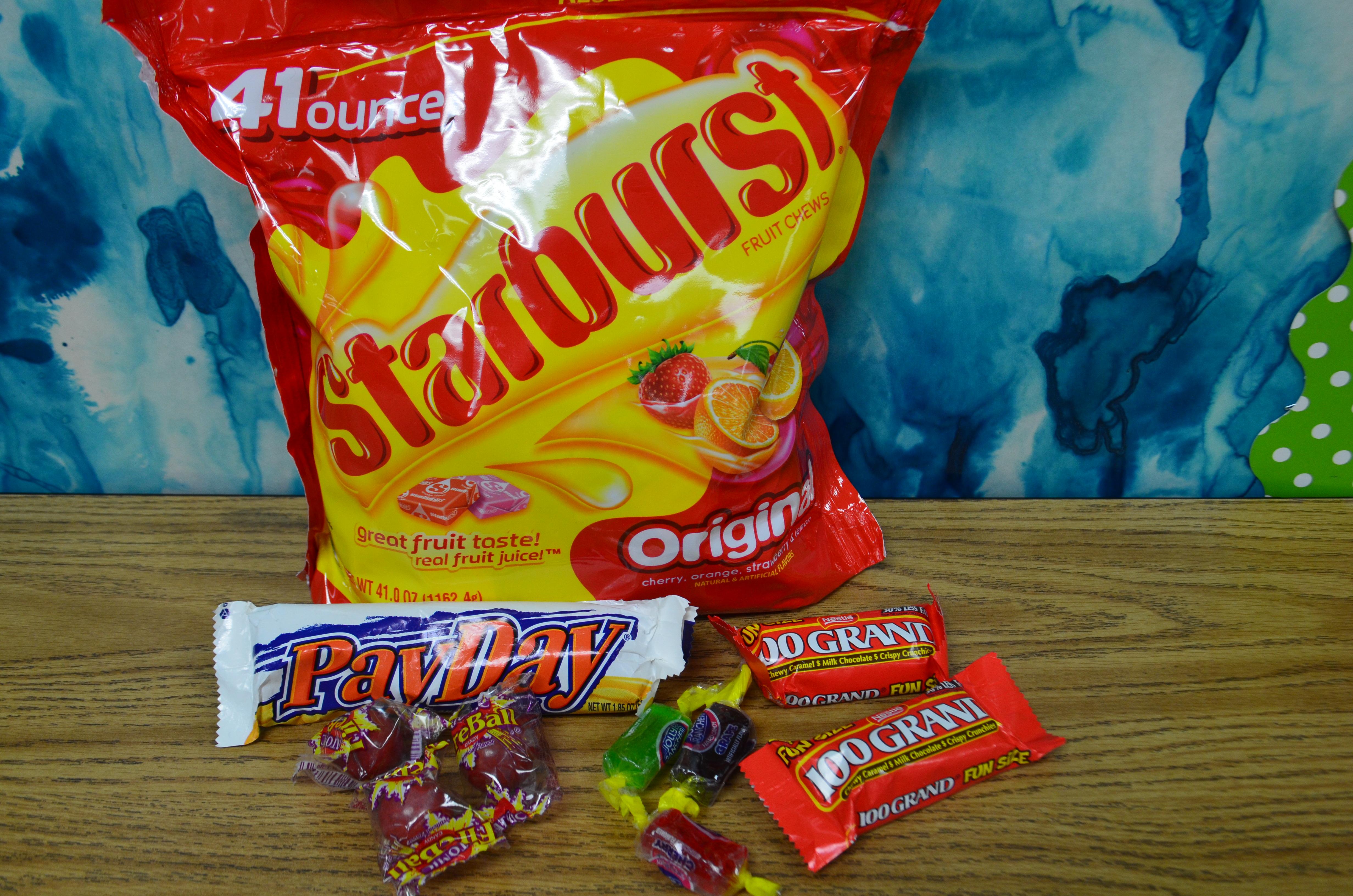 Test prep bag supplies