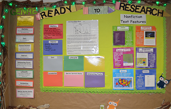 Research paper bulletin boards
