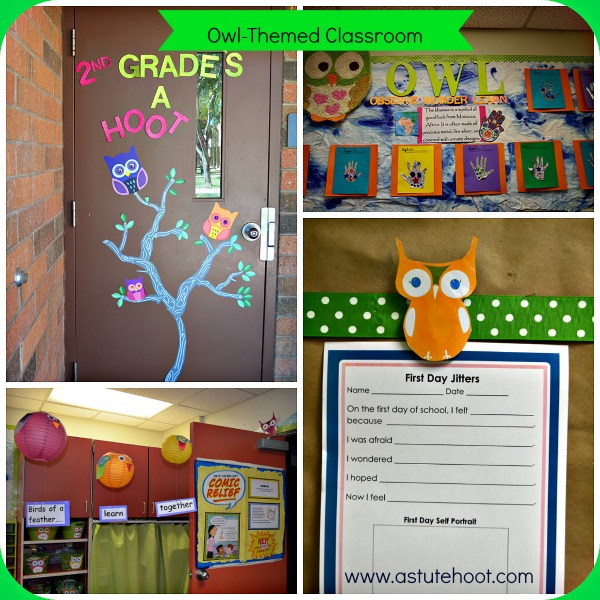 Owl Classroom Idea ~ Owl themed classrooms are a hoot