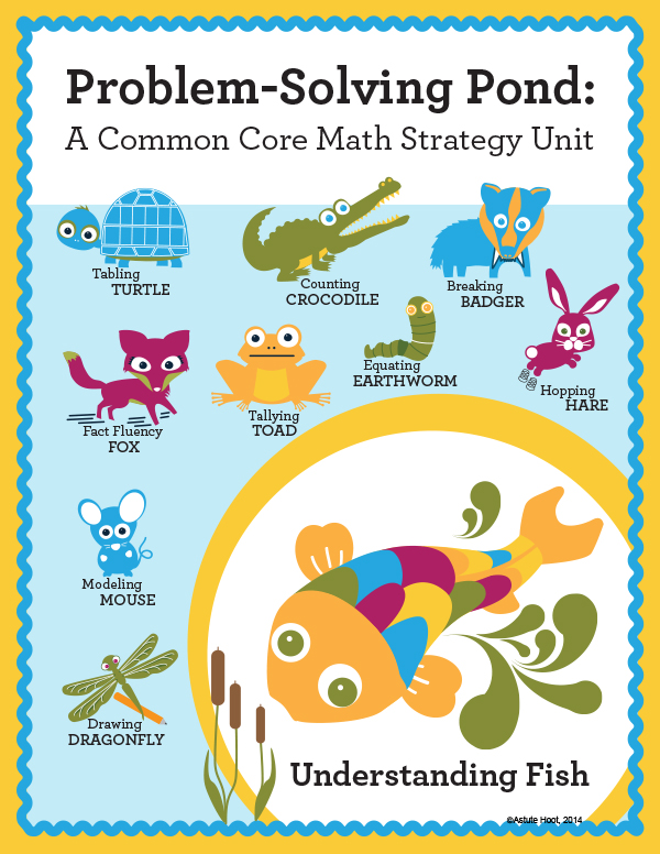 Math Intervention Problem-Solving Unit {Upton Understanding Fish ...