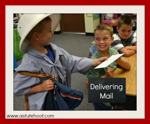 Delivering mail