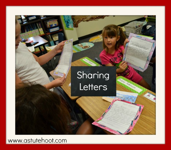 Sharing Letters 2