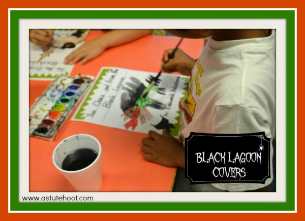 Black Lagoon covers Halloween Blog Hop