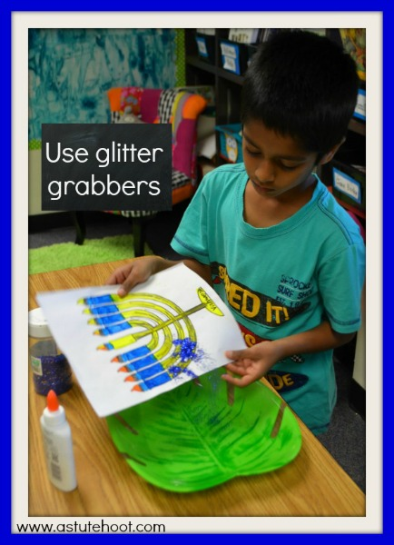 Glitter grabbers