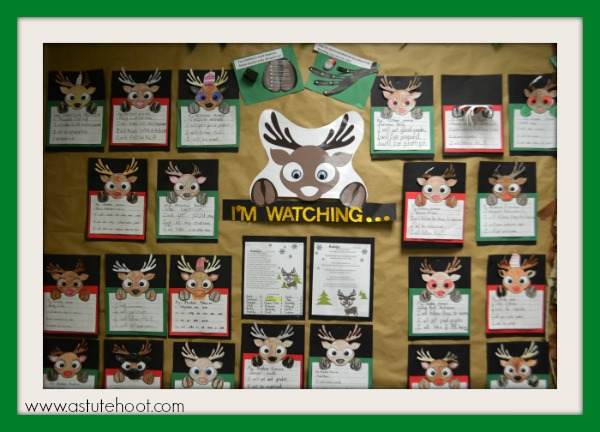 Reindeer in the Room bulletin board 2