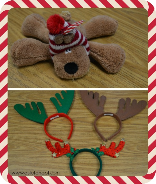 Reindeer in the room materials