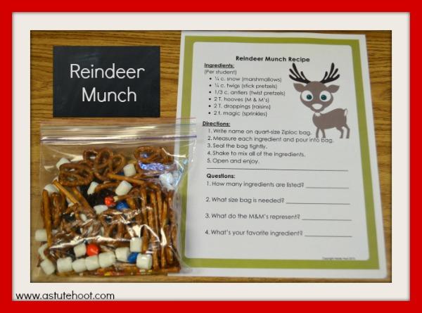 Reindeer munch