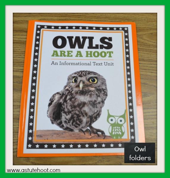 Owl folders