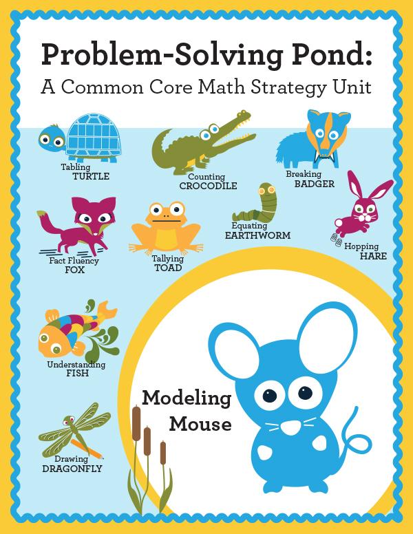 Math Intervention Problem-Solving Unit {Max Modeling Mouse} | Astute ...