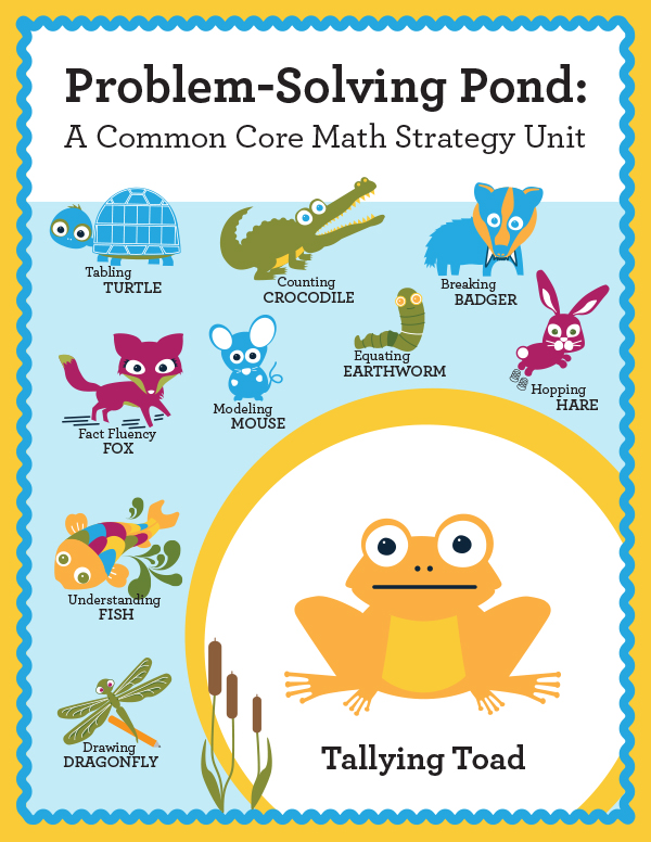 Math Intervention Problem-Solving Unit {Todd Tallying Toad} | Astute ...