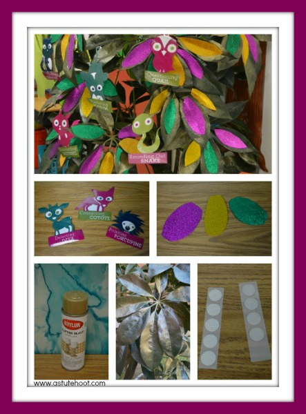 Hazel's Reading Roost collage 2