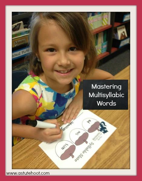 Mastering Multisyllabic Words