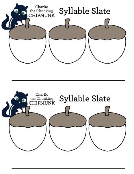 Syllable Slates