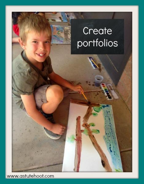 Creating portfolios