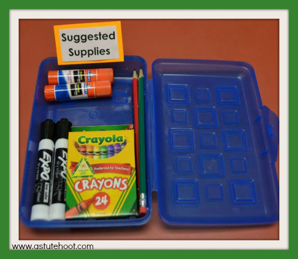 suggested supplies 2