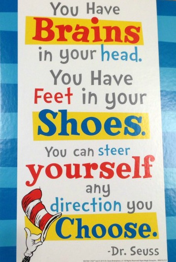 Dr. seuss sign 4.5